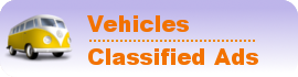 Vehicles Classified Ads