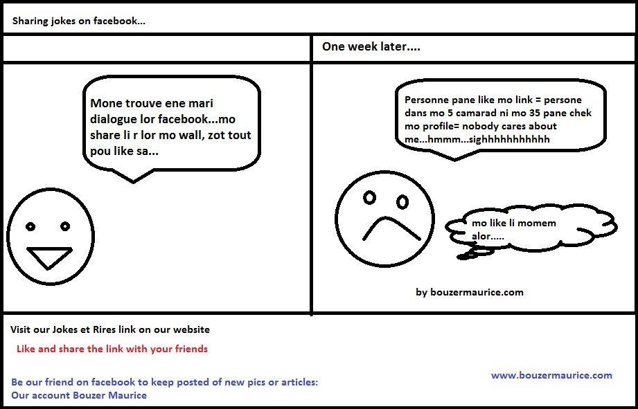 Troll no 17- Sharing jokes on facebook -Best Mauritian